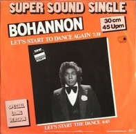 Bohannon - Let's Start to Dance Again
