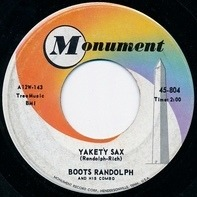 Boots Randolph And His Combo - Yakety Sax
