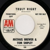 Brewer And Shipley - Truly Right / Green Bamboo