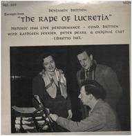Britten / K.Ferrier, P.Pears - The Rape Of Lucretia