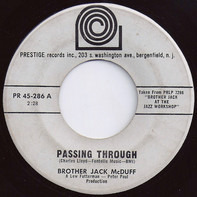 Brother Jack McDuff - Passing Through / Somewhere In The Night