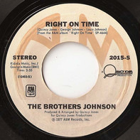 Brothers Johnson - Love Is / Right On Time