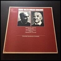 Bruno Walter Dirigiert Anton Bruckner , Columbia Symphony Orchestra - Sinfonie Nr. 4 Es-dur 'Romantische' / Sinfonie Nr. 7 E-dur Urfassung / Sinfonie Nr. 9 D-moll