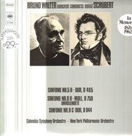 Bruno Walter - dirigiert Schubert-Sinf. Nr.5 B-Dur, 8 H-Moll, 9 C-Dur,, Columbia Symph Orch, NY Philh. Orch