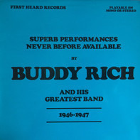 Buddy Rich And His Orchestra - Superb Performances Never Before Available