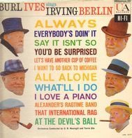 Burl Ives - Burl Ives Sings Irving Berlin