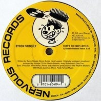 Byron Stingily - That's The Way Love Is (Rhythm Masters Remixes)