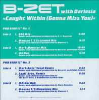 B-Zet With Darlesia - Caught Within (Gonna Miss You)