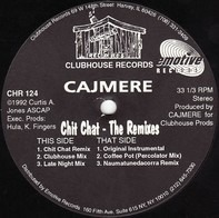Cajmere - Chit Chat - The Remixes