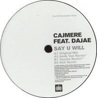 Cajmere - Say U Will