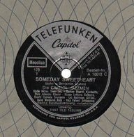 The Capitol Jazzmen - Someday Sweetheart/ That Old Feeling
