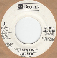 Carl Mann - Just About Out / Neon Lights