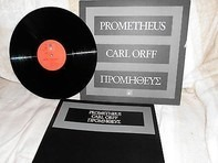 Carl Orff/F. Leitner, Das Kölner Rundfunk-Sinfonie-Orch., Edda Moser, J. Greindl - Prometheus