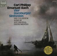 Carl Philipp Emanuel Bach , Collegium Aureum - Vier Hamburger Sinfonien
