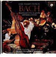 Carl Philipp Emanuel Bach - Sonate Per Viola Da Gamba E Basso Continuo