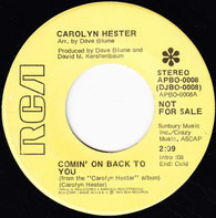 Carolyn Hester - Comin' On Back To You