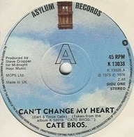 Cate Brothers - Can't Change My Heart