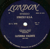 Caterina Valente - Strictly U.S.A.