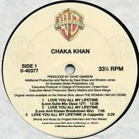 Chaka Khan - Love You All My Lifetime