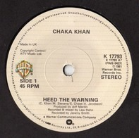 Chaka Khan - Heed The Warning