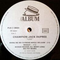 Champion Jack Dupree - Live!