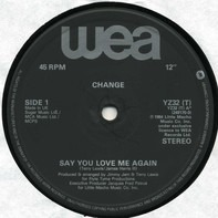 Change - Say You Love Me Again / Change Medley