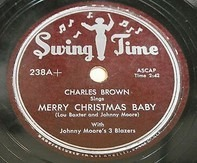 Charles Brown - Merry Christmas Baby / Lost In The Night