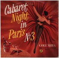 Charles Trenet, Mistinguett, a.o. - Cabaret Night In Paris No.3