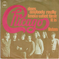 Chicago - Does Anybody Really Know What Time It Is? / Listen