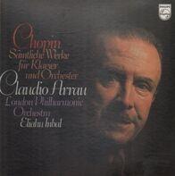 Chopin - Sämtliche Werke für Klavier und Orchester (Claudio Arrau)