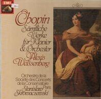 Chopin - Sämtliche Werke Für Klavier Und Orchester (Weissenberg)