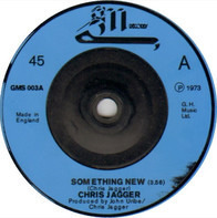 Chris Jagger - Something New