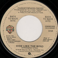 Christopher Cross - Ride Like The Wind / Sailing