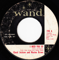 Chuck Jackson and Maxine Brown - I Need You So