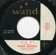 Chuck Jackson - Beg Me / This Broken Heart
