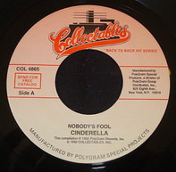 Cinderella - Nobody's Fool / Shelter Me
