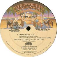 Cindy & Roy - I Wanna Testify / Changin' Jobs