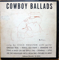 Cisco Houston - Cowboy Ballads
