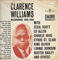 Clarence Williams - Clarence Williams Recordings 1926-1930