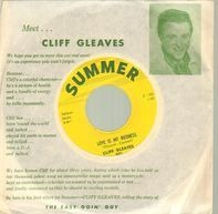 Cliff Gleaves - Love Is My Business / Easy Goin' Guy