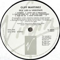 Cliff Martinez - Sex, Lies, And Videotape -  Original Motion Picture Soundtrack