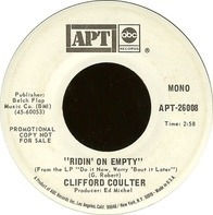 Clifford Coulter - Ridin' On Empty