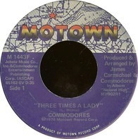 Commodores - Three Times A Lady