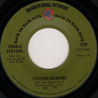 Connie Stevens - Sixteen Reasons / Make Believe Lover