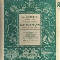 Corette / Telemann - Sonata in e minor / oncerto in d major