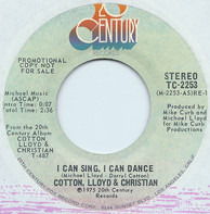 Cotton, Lloyd & Christian - I Can Sing, I Can Dance