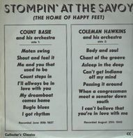 Count Basie / Coleman Hawkins - Stompin' at the Savoy