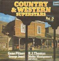 George Jones, Ronnie Milsap. Carl Belew - Country & Western Superstars Vol.2
