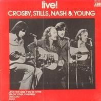Crosby, Stills, Nash & Young - Live!