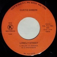 Curtis Gibson - Lonely Street / Tragic Romance